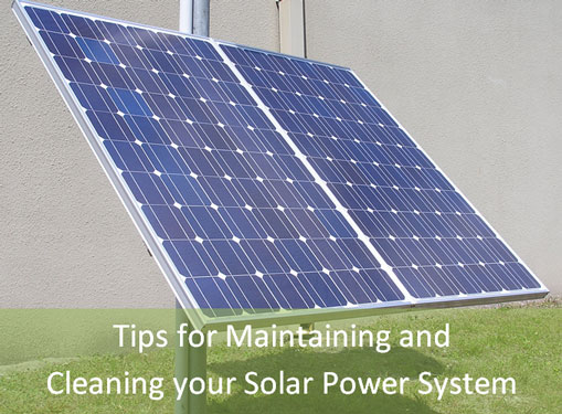 Solar Light Cleaning and Maintaining