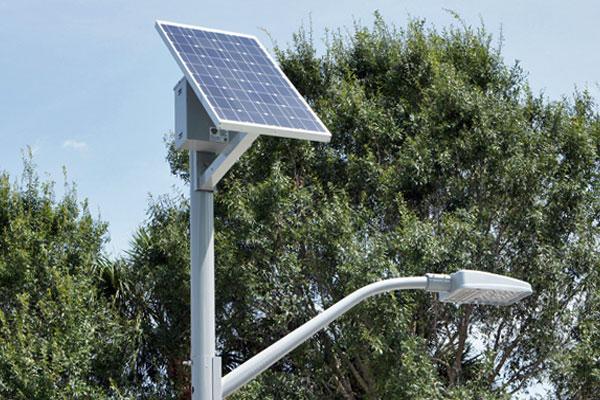 Solar Lighting Fixture