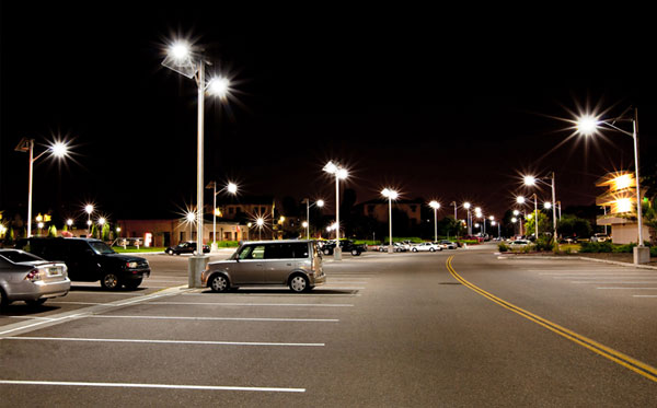 Outdoor Solar Lighting Solutions Parking Lot