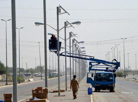 Solar Street Light Fallujah Iraq