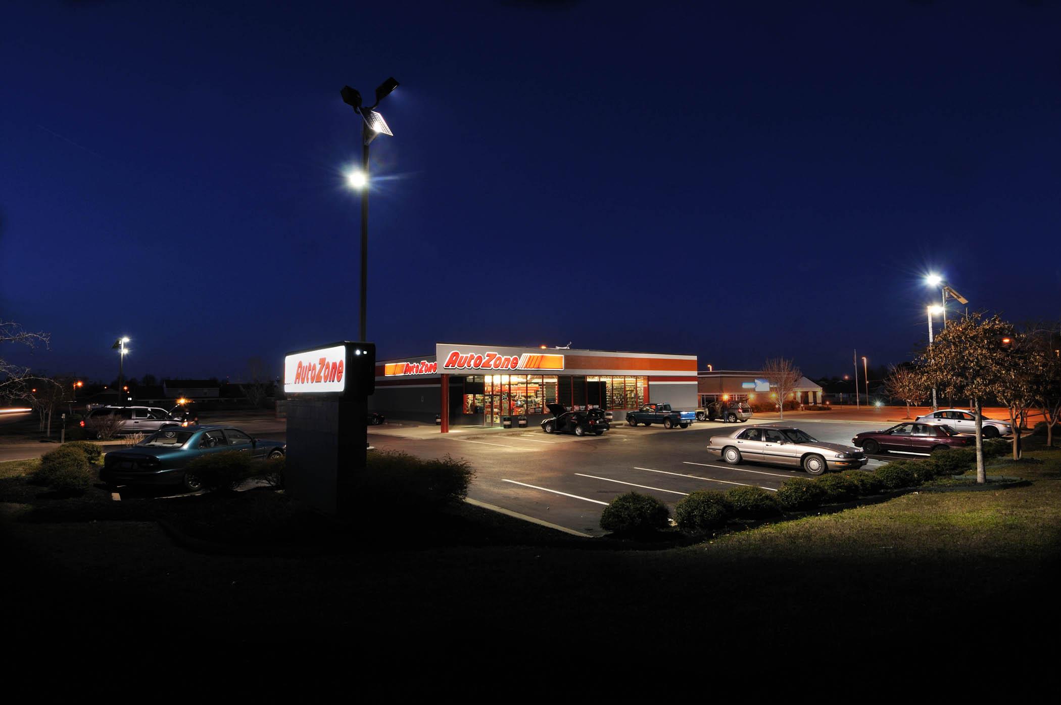 Commercial Solar Parking Lot Lighting