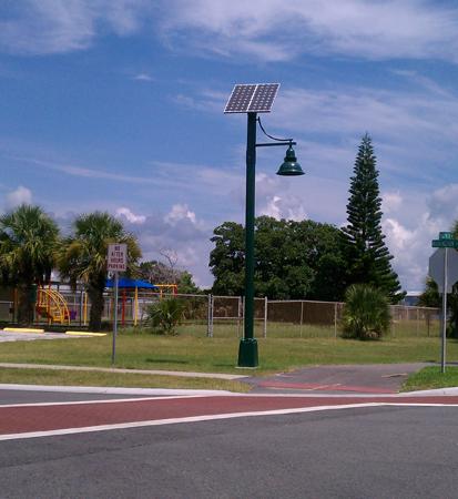 Coastal City Turtle Friendly Solar Light