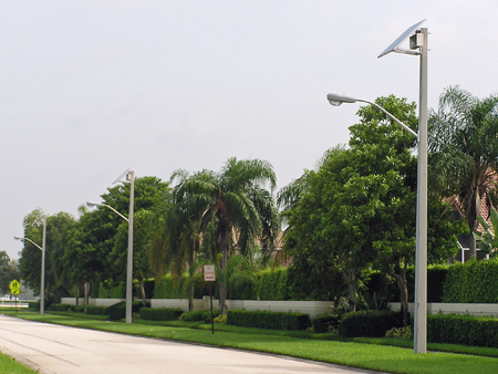 Coral Springs Solar Street Lights