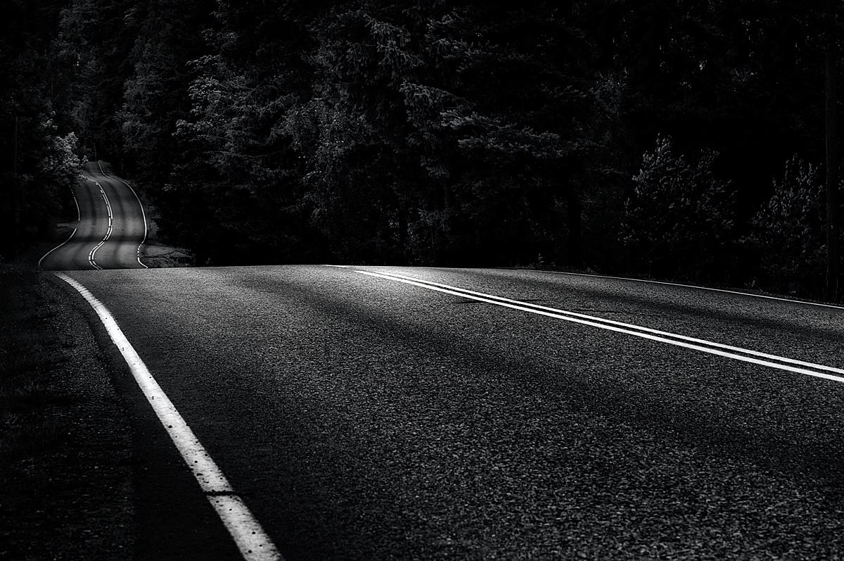 Dark Back Road