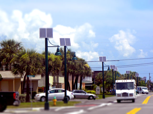 Decorative LED Solar Lighting