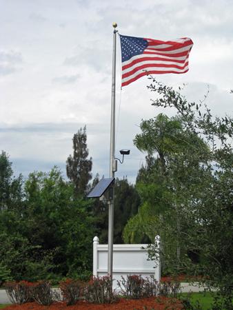 Good Solar Flagpole Lighting Information and EtiquetteSEPCO Solar Lighting Blog   Flagpole Lighting. Flag Pole Led Light Fixtures. Home Design Ideas