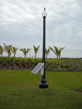 Decorative Post Top Solar Light