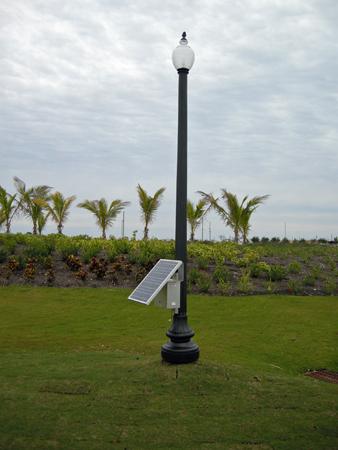 Decorative Post Top Solar Light