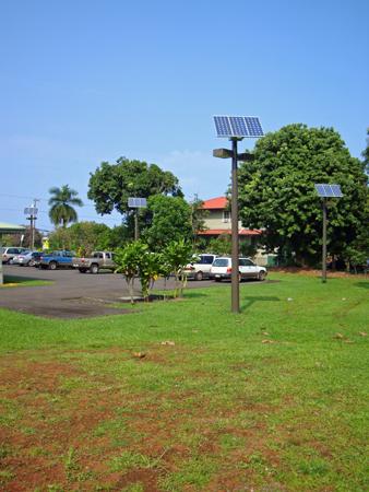 Solar Parking Lot Lighting