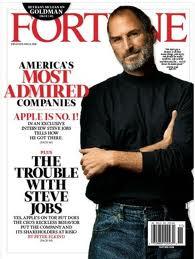 Steve Jobs on Fortune Cover