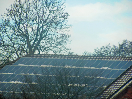 Solar on Barn in Germany