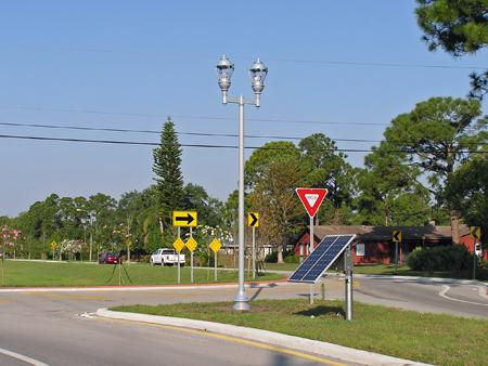 Lamp Post Solar Lights
