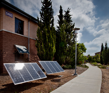 Solar Power for Pathway Lights