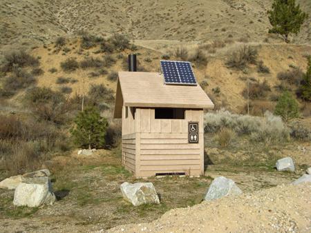Solar Restroom Lighting