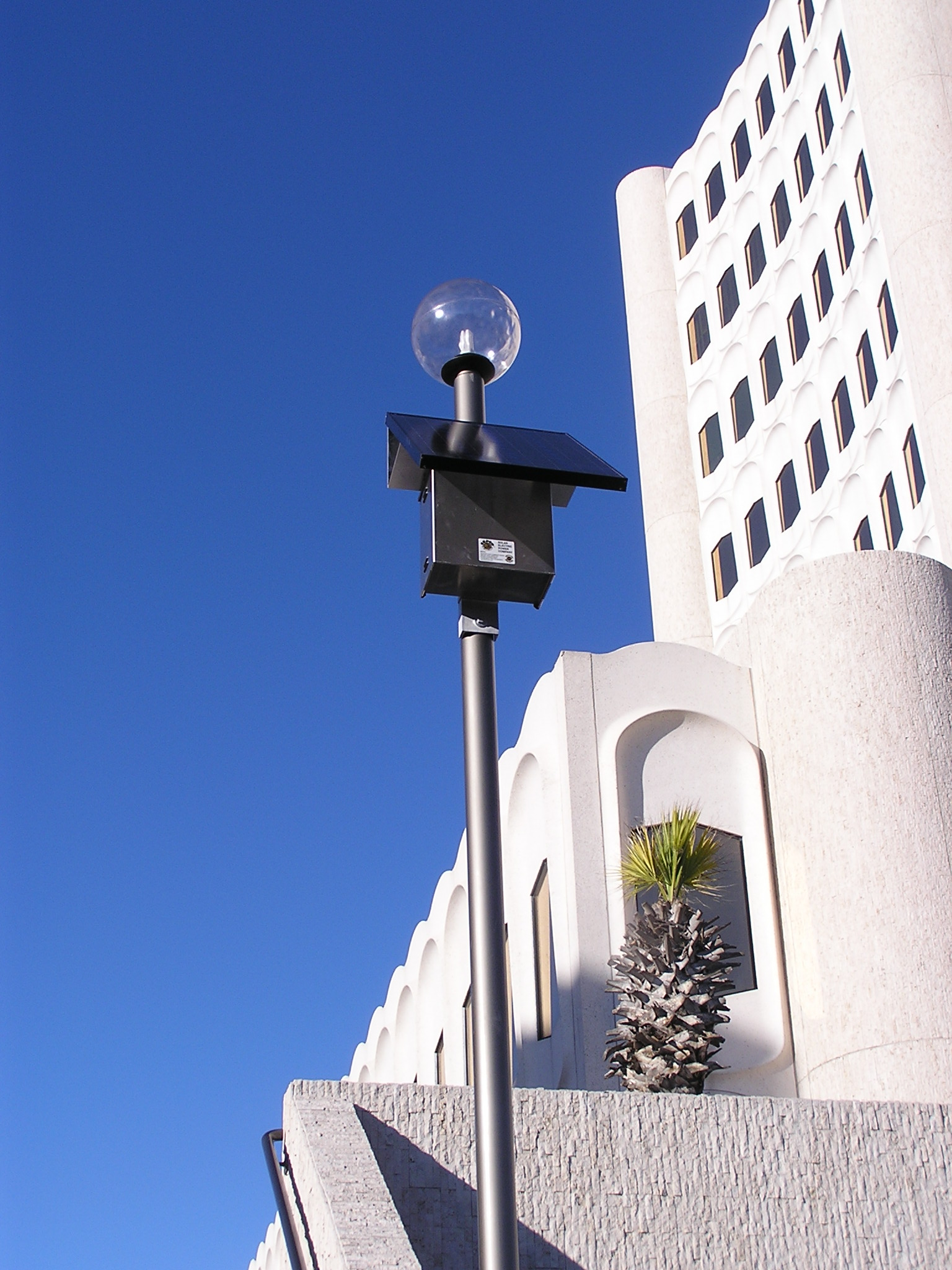 Nueces County Courthouse Solar Lighting System