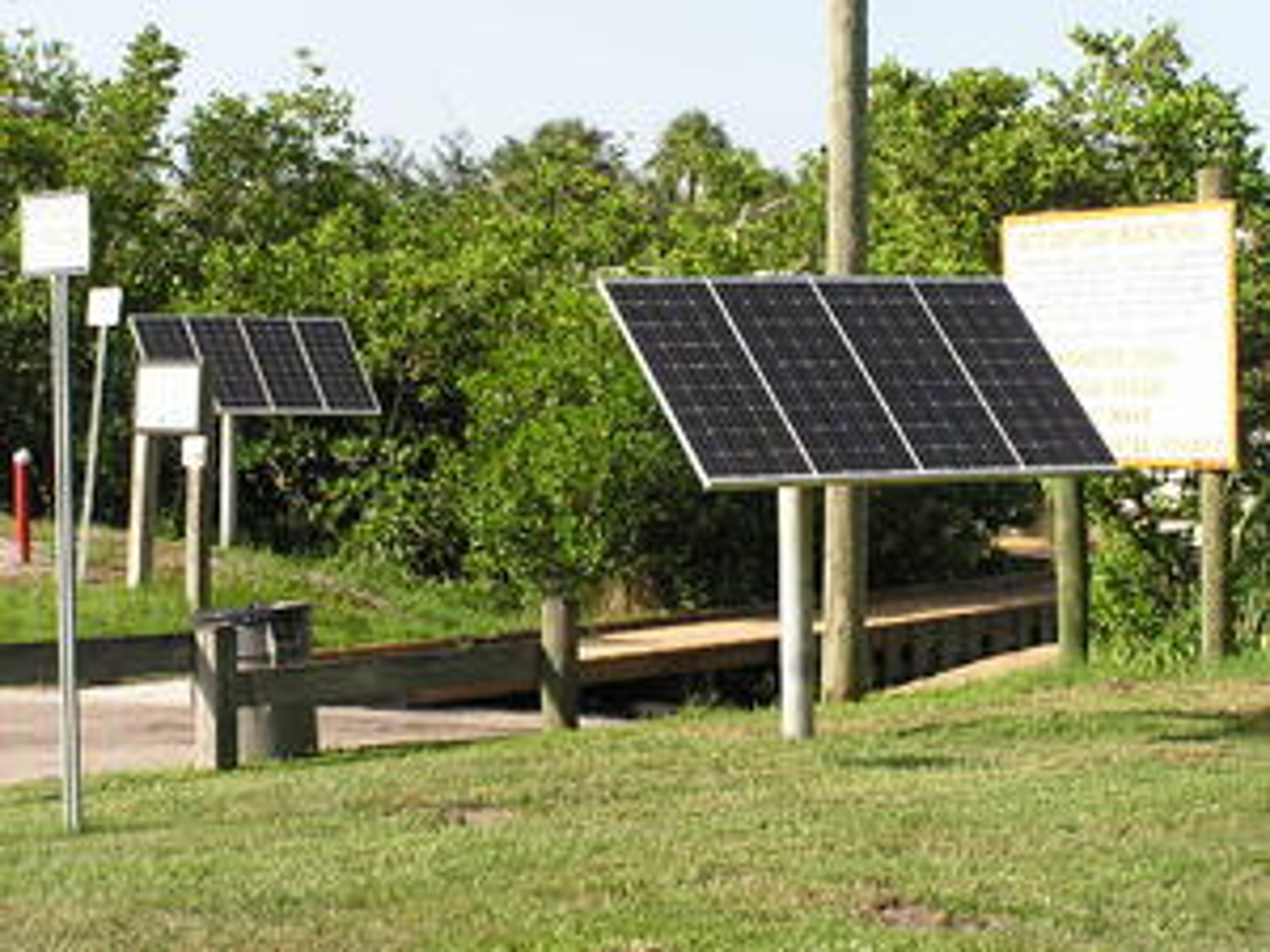 Solar Power for Dock Light