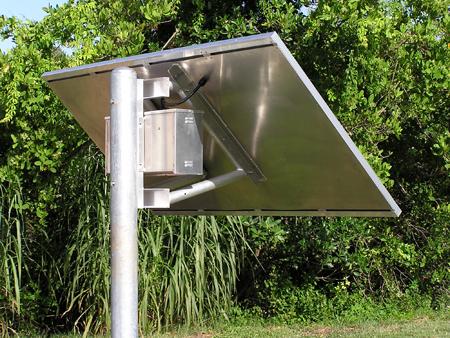 Solar Power Panel Pan
