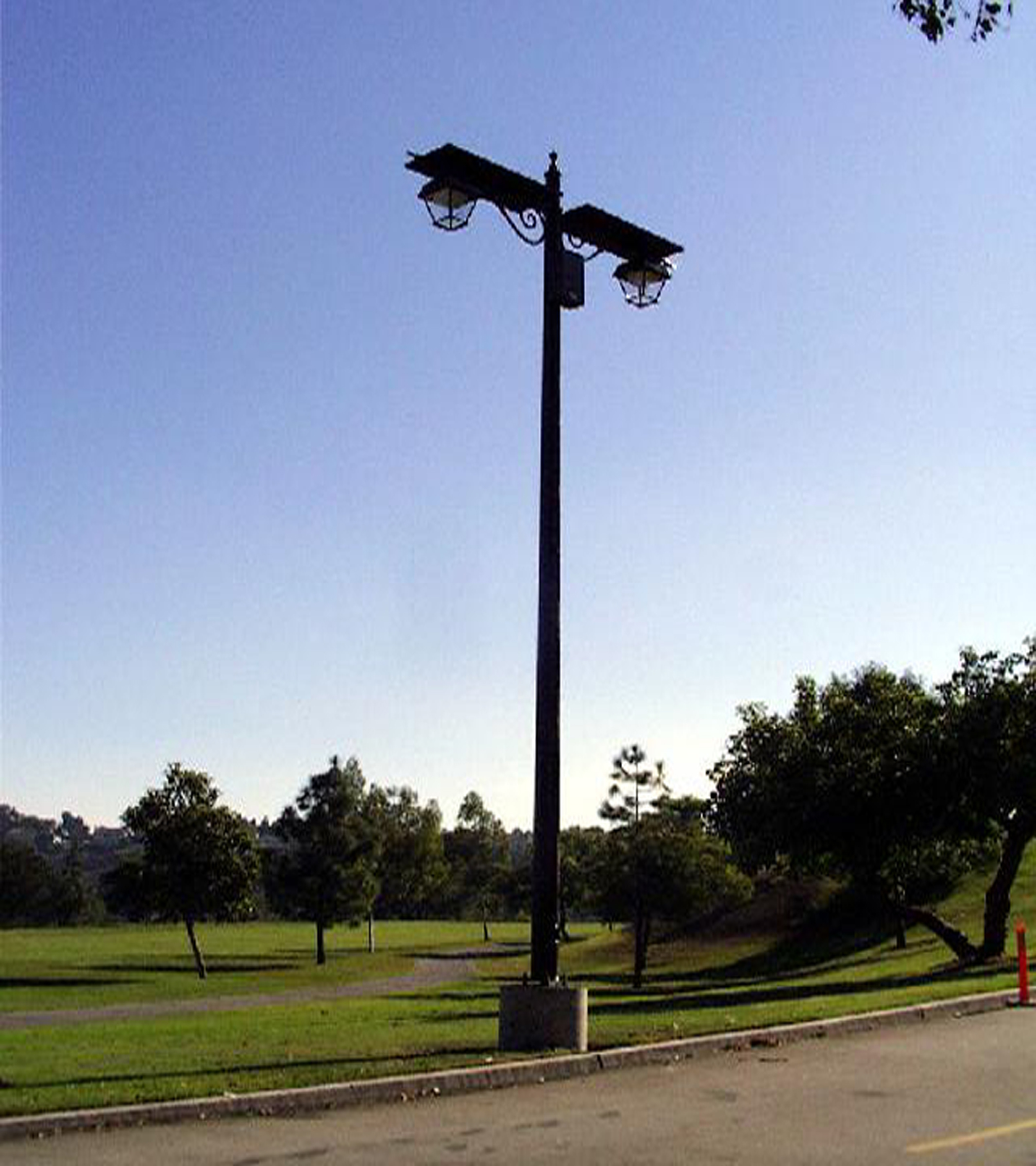 Anaheim Hills Golf Club Solar Light