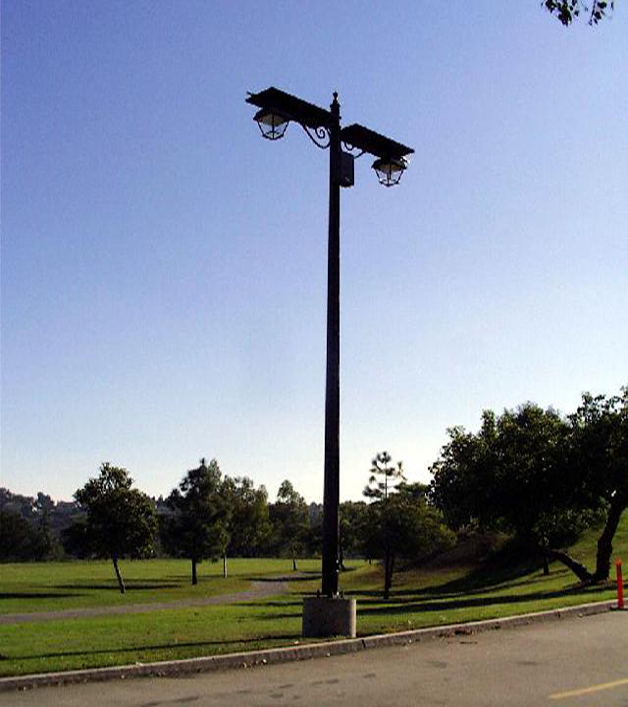Anaheim Hills Golf Club Solar Light