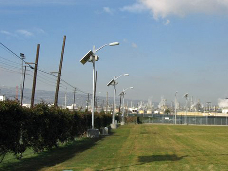 Port of LA Solar Perimeter Lights