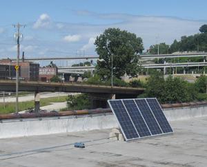 RoofMountedSolarPowerSystem