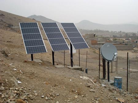 Solar Powered Satellite Station