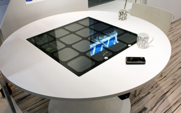 What Solar Power Tables Will Wirelessly Power?...Your Tools!