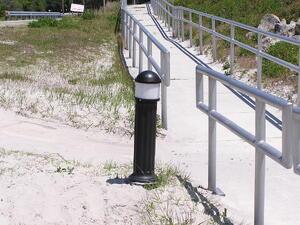 Solar bollard lights forgotten commercial solar lights solarbollardlight bollard lights mozeypictures Choice Image