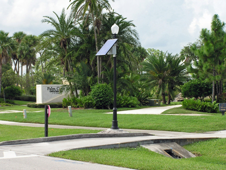 Lamp Post Solar Lighting