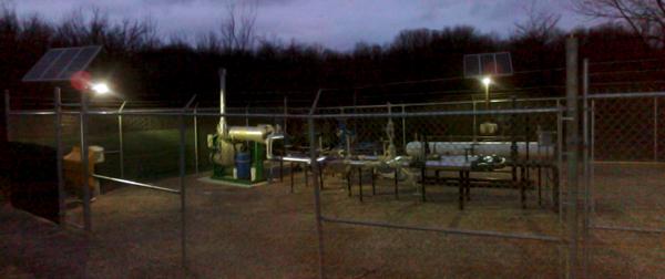 Union Gas Solar Security Light