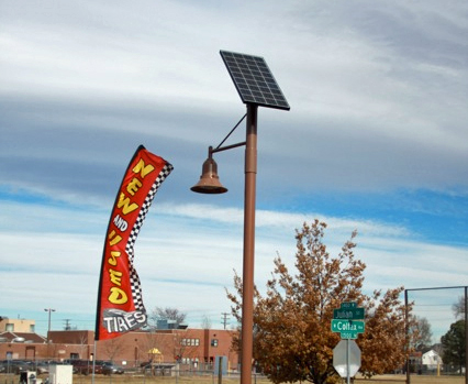 West Colfax Solar LED Lighting System