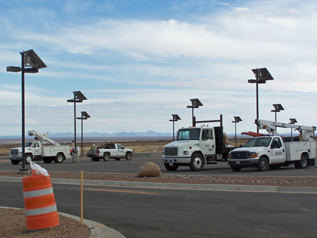 Commercial Solar Outdoor Lighting
