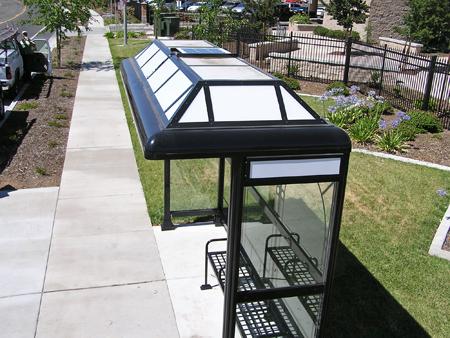 Solar Bus Shelter Lighting