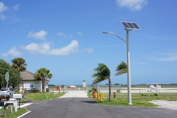 Martin County Airport Street Lighting