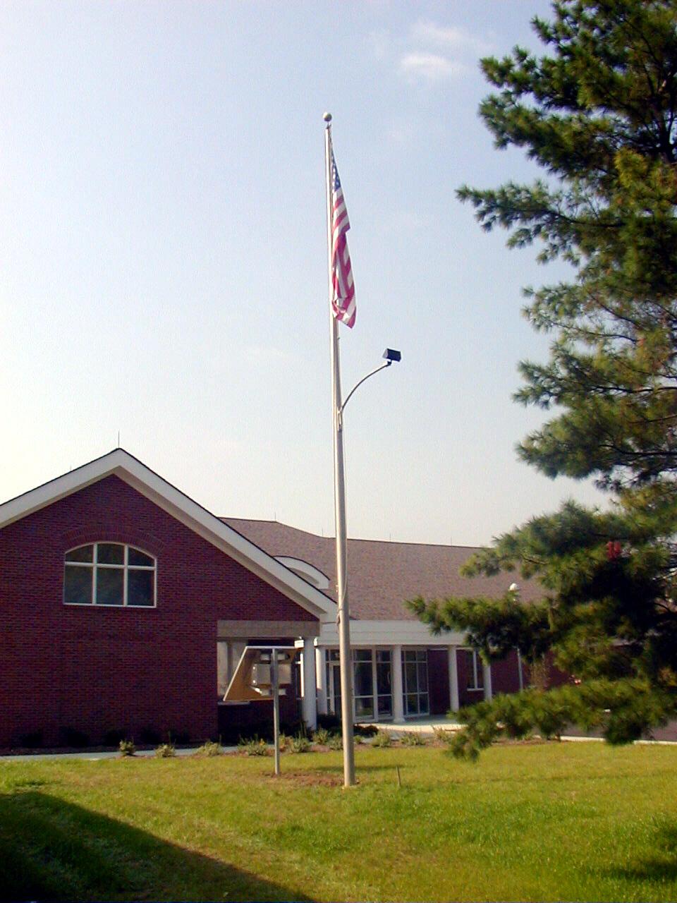 Flagpole Lighting Design