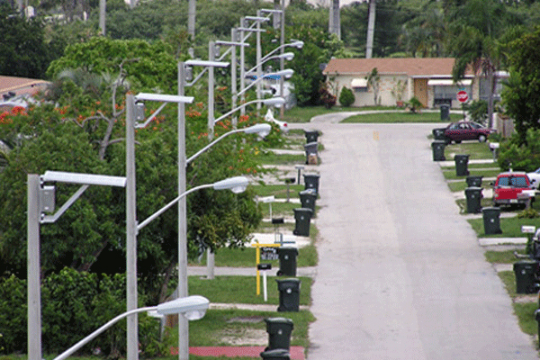 hurricane proof solar street lights