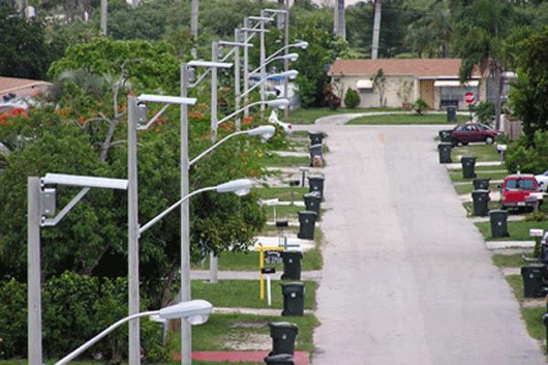 hurricane proof solar street lights