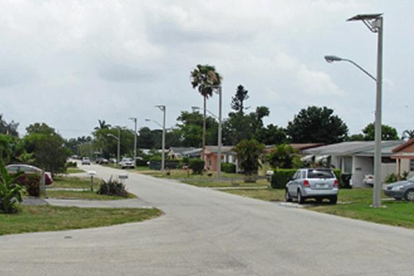 hurricane rated solar street lights