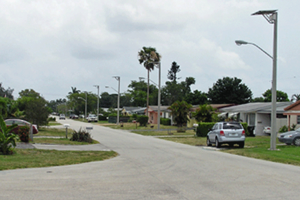 hurricane rated solar street lights