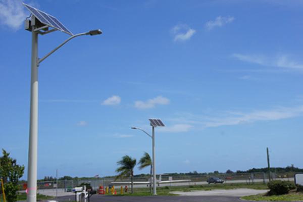 Solar LED street lighting