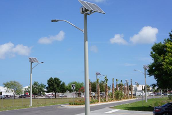 martin county airport solar led lighting