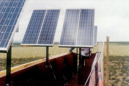 Off Grid Solar Power Billboard Lighting