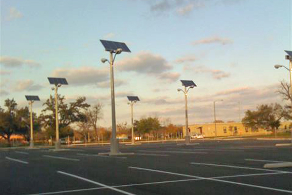 Solar Light for Parking Lot