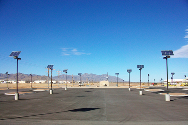 metal halide solar outdoor parking lot lighting