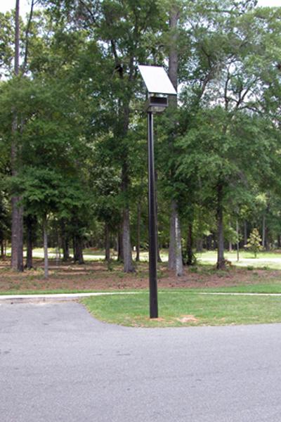 solar light for parking lot grid free