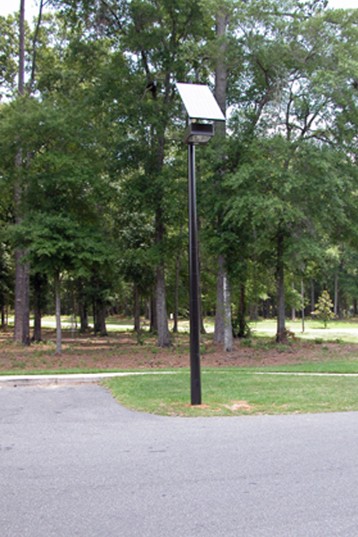 solar light for parking lot grid free
