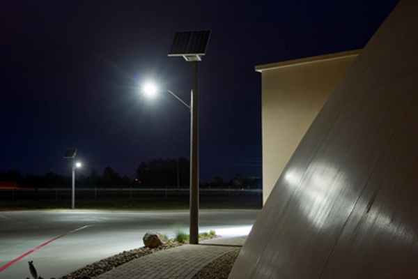 business continuity domes solar powered outdoor parking lot lights