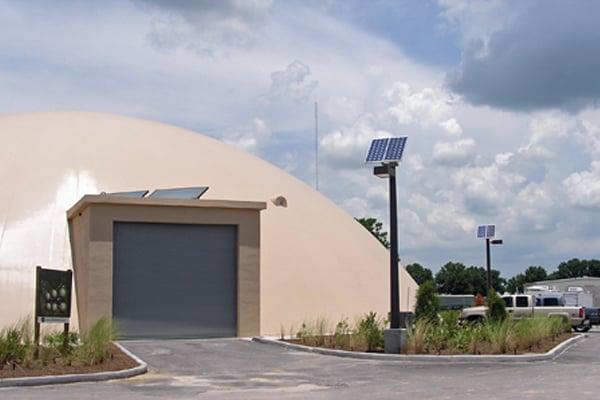 off grid solar powered outdoor parking lot lights