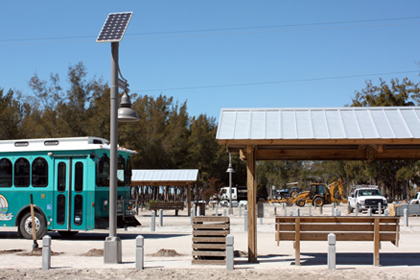 Manatee County Urban Solar Light