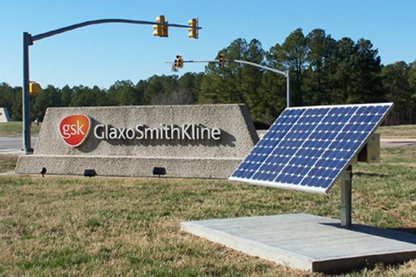 Monument Solar Sign Light